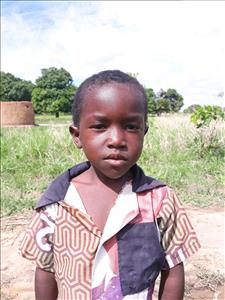 Choose a child to sponsor, like this little boy from Keembe, Ishimaili age 5
