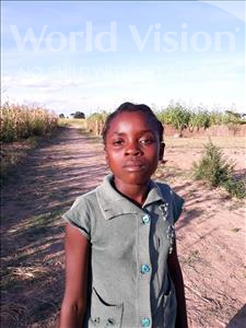 Choose a child to sponsor, like this little girl from Keembe, Daines age 10