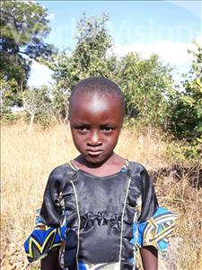 Choose a child to sponsor, like this little girl from Keembe, Mercy age 5