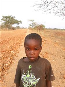 Choose a child to sponsor, like this little boy from Keembe, Langson age 5