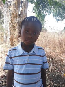 Choose a child to sponsor, like this little boy from Keembe, Savour age 6