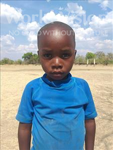 Choose a child to sponsor, like this little boy from Keembe, Mukatasha age 4