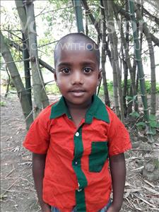 Choose a child to sponsor, like this little boy from Ghoraghat, Mehedi age 5