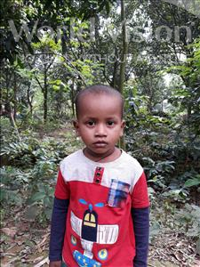 Choose a child to sponsor, like this little boy from Ghoraghat, Setu age 3