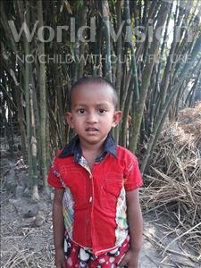 Md Kaosar, aged 3, from Bangladesh, is hoping for a World Vision sponsor