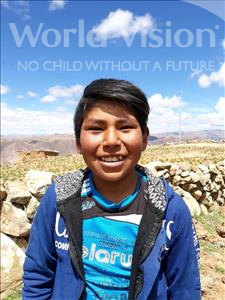 Ever, aged 12, from Bolivia, is hoping for a World Vision sponsor