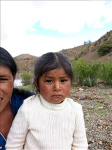 Mariana, aged 3, from Bolivia, is hoping for a World Vision sponsor