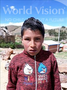 Choose a child to sponsor, like this little boy from Mosoj Punchay, Ruben age 10