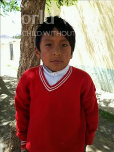 Choose a child to sponsor, like this little boy from Khantati, Diego age 9