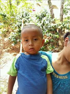 Jose Antonio, aged 1, from Honduras, is hoping for a World Vision sponsor
