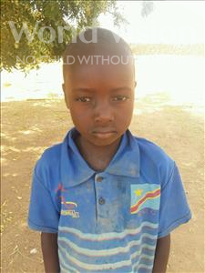 Choose a child to sponsor, like this little boy from Sirba, Fataou age 6