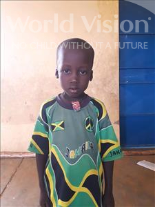 Choose a child to sponsor, like this little boy from Komabangou, Hamza age 6