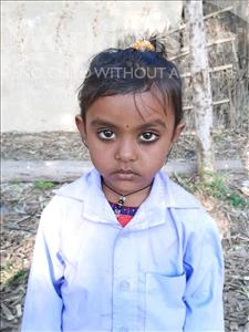 Shristi Kumari, aged 3, from Nepal, is hoping for a World Vision sponsor