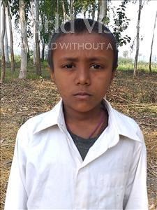 Choose a child to sponsor, like this little boy from Sarlahi, Santosh age 6