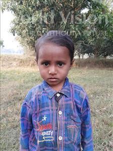 Choose a child to sponsor, like this little boy from Sarlahi, Subash Kumar age 4