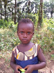 Choose a child to sponsor, like this little girl from Jong, Maria age 3