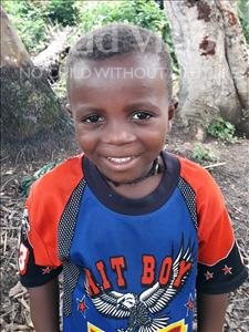 Choose a child to sponsor, like this little boy from Imperi, Bockarie age 5