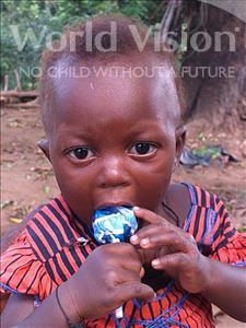 Mariama, aged 1, from Sierra Leone, is hoping for a World Vision sponsor