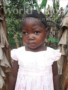 Choose a child to sponsor, like this little girl from Tegloma, Aminata age 5