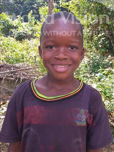 Choose a child to sponsor, like this little boy from Tegloma, Ishmael age 8