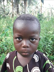 Choose a child to sponsor, like this little boy from Tegloma, Musa age 3