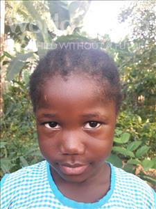 Choose a child to sponsor, like this little girl from Tegloma, Isha age 5