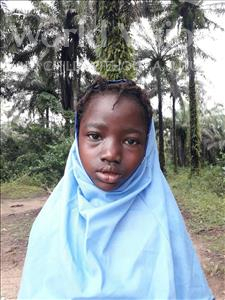 Choose a child to sponsor, like this little girl from Jaiama Bongor, Hassanatu age 9
