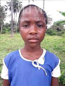 Zainab Mariama, aged 9, from Sierra Leone, is hoping for a World Vision sponsor
