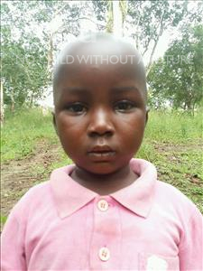 Choose a child to sponsor, like this little boy from Jaiama Bongor, Alieu age 3