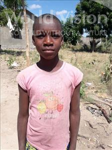 Pendo Chidondo, aged 10, from Tanzania, is hoping for a World Vision sponsor