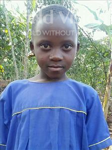 Choose a child to sponsor, like this little girl from Kibiga-Mulagi, Fatuma age 10