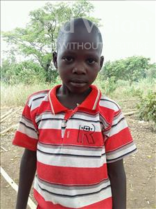 Choose a child to sponsor, like this little boy from Kibiga-Mulagi (Kimu), Peter age 7