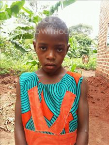 Judith, aged 6, from Uganda, is hoping for a World Vision sponsor