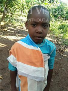 Choose a child to sponsor, like this little boy from Kibiga-Mulagi, Robert age 7