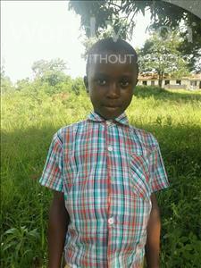 Choose a child to sponsor, like this little boy from Kibiga-Mulagi (Kimu), Robert age 7