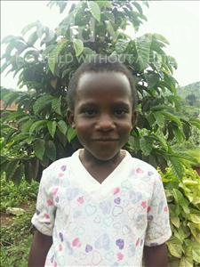 Racheal, aged 5, from Uganda, is hoping for a World Vision sponsor