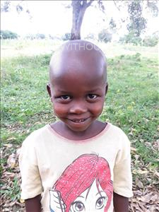 Choose a child to sponsor, like this little boy from Busitema, Cylus age 5