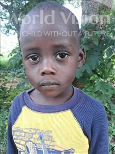 Mishaki, aged 4, from Uganda, is hoping for a World Vision sponsor