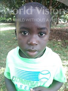 John, aged 4, from Uganda, is hoping for a World Vision sponsor