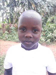 Choose a child to sponsor, like this little boy from Busitema, Mishaki Dmiano age 6