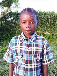 John, aged 7, from Uganda, is hoping for a World Vision sponsor
