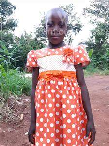 Choose a child to sponsor, like this little girl from Ntwetwe, Dafin age 5