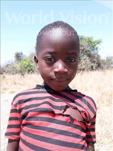 Choose a child to sponsor, like this little boy from Keembe, Folo age 4