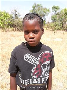 Enesi, aged 12, from Zambia, is hoping for a World Vision sponsor