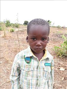 Choose a child to sponsor, like this little boy from Keembe, Albert age 4