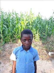 Choose a child to sponsor, like this little girl from Keembe, Farles age 9