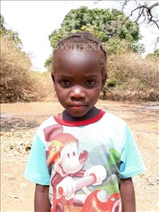 Choose a child to sponsor, like this little girl from Keembe, Exildah age 4