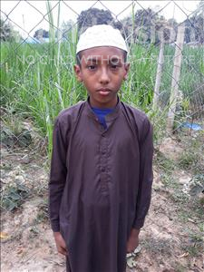 Choose a child to sponsor, like this little boy from Ghoraghat, Fozle Rabbi age 12