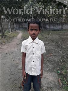 Choose a child to sponsor, like this little boy from Ghoraghat, Riyad age 9