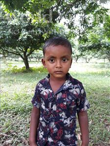 Choose a child to sponsor, like this little boy from Ghoraghat, Shuvo age 4